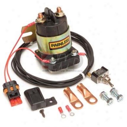 Wiring Remote Master Disconnect Kit Through  Painless