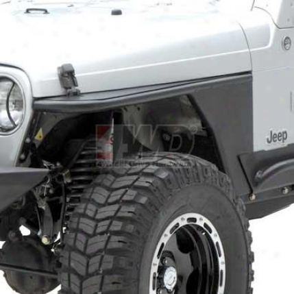 "Xrc Armor Front Tube Fenders With 3"" Flare By Smittybilt"