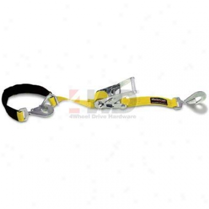 "Yellow 2"" Heavy-duty Strap 2"" X 8' By Mastercraft"