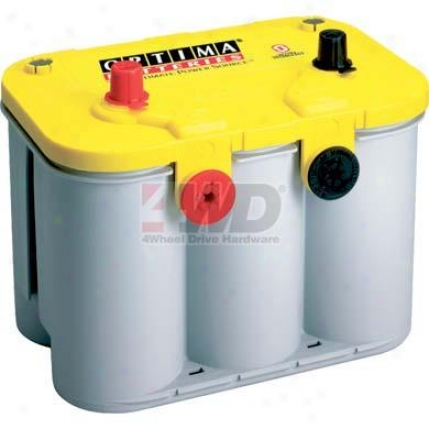 Yellow Top 12 Volt Deep Cycle Battery By Optima