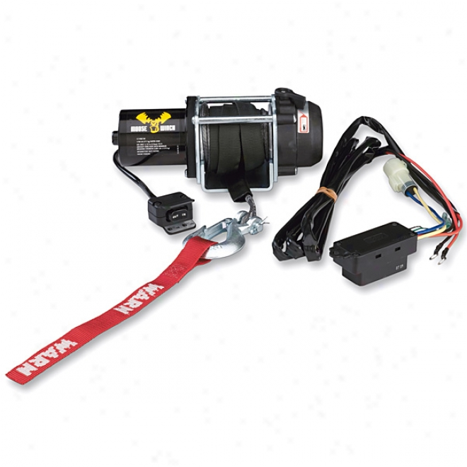 1700lb Winch With Synthetic Rope