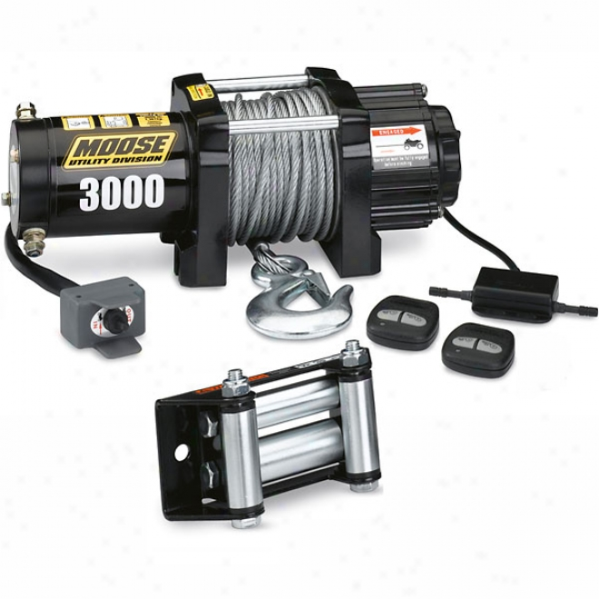 3000 Winch With Wireless Remote