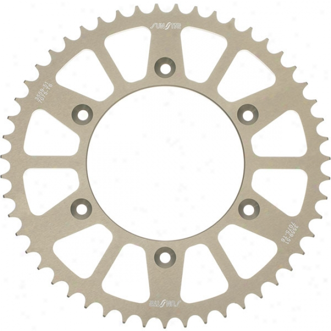 428 Works Triplestar Aluminum Rear Sprocket
