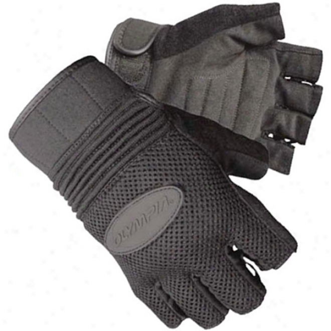 757 Air Force Fingerless Gel Gloves