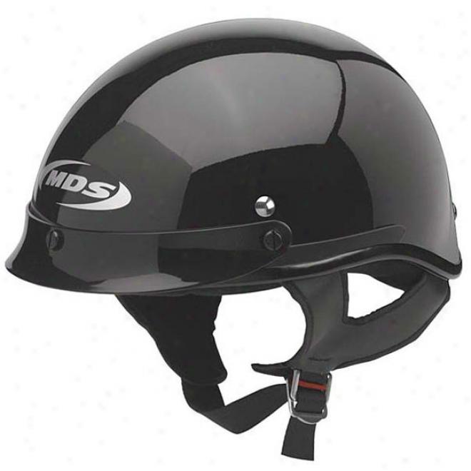 A4 Solid Half Helmet