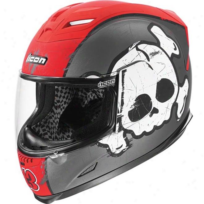 Airframe Crossbone Racer Helmet
