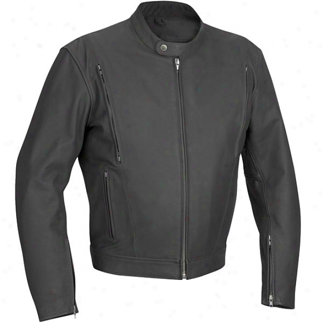 Alloy Vented Leather Jacket