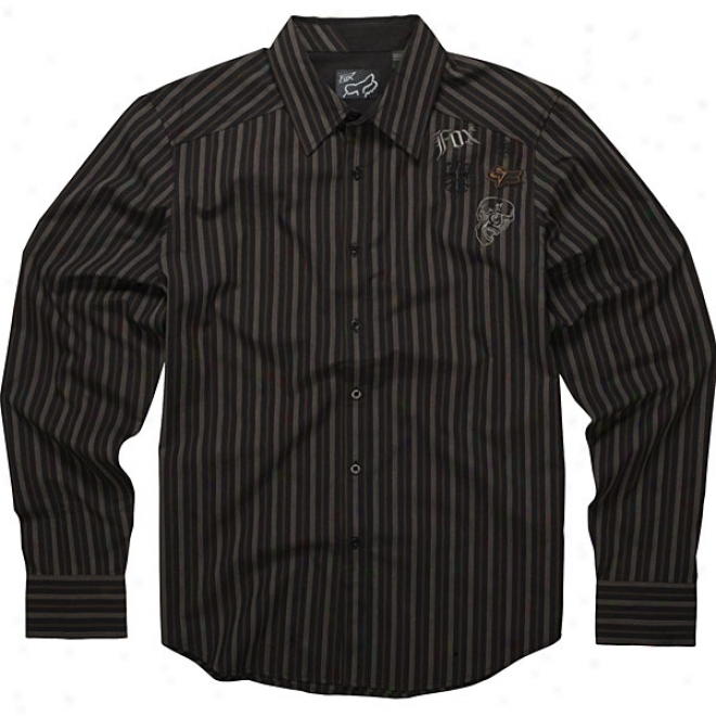 Attention Long Sleeve Woven Shirt