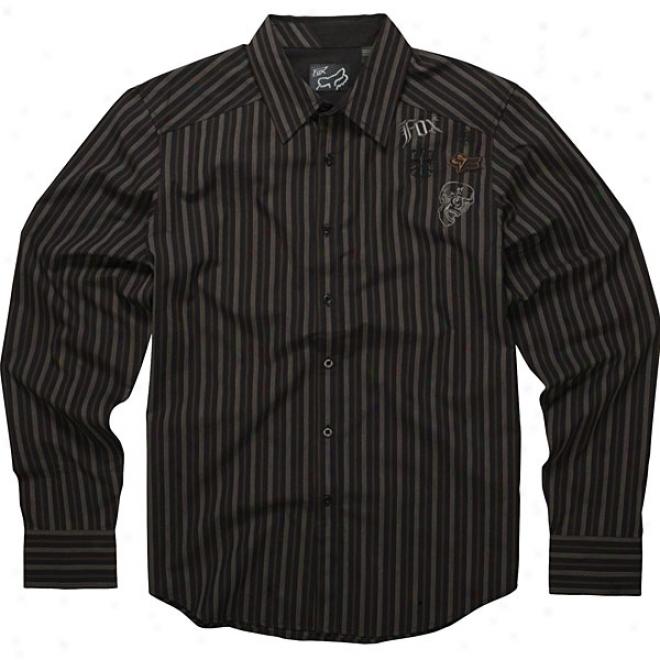 Attention Long Sleeve Woven Shirt