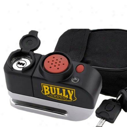 Billet Steel Alarm Disc Lock