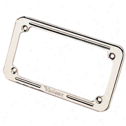 Billet Vulcan License Plate Frame