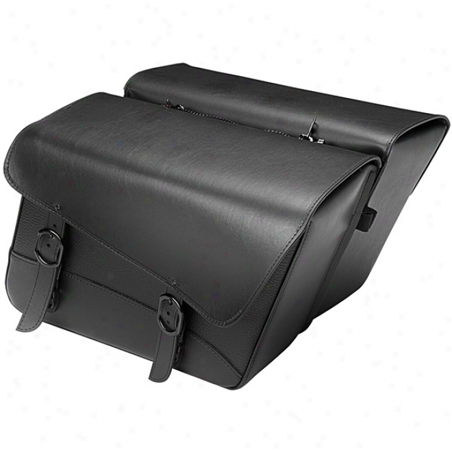 Wicked Jack Large Slant Saddlebags