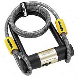 Bulldog 13mm U-lock With Cable