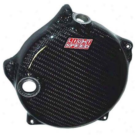 Carbon Finer Clutch Cover Wrap