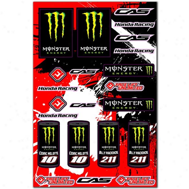 Cas Honda Monster Universsal Logo Kit