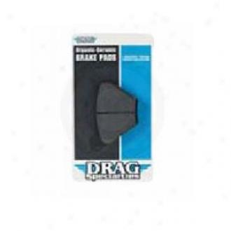 Ceramic-organic Front Brake Padq
