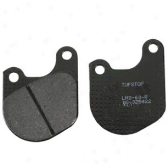 Ceramic-organic Rear Brake Pads