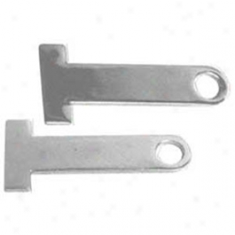 Chrome Helmet Lock Extenders