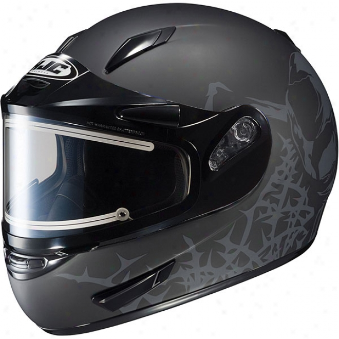 Cl-15 Sn Vault Snow Helmet With Electric Shield