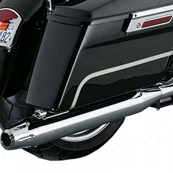 Classic Slip-on Straight Cut Billet End Cover