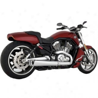 Competition Series Slip-on Muffler For V-rod Muscle