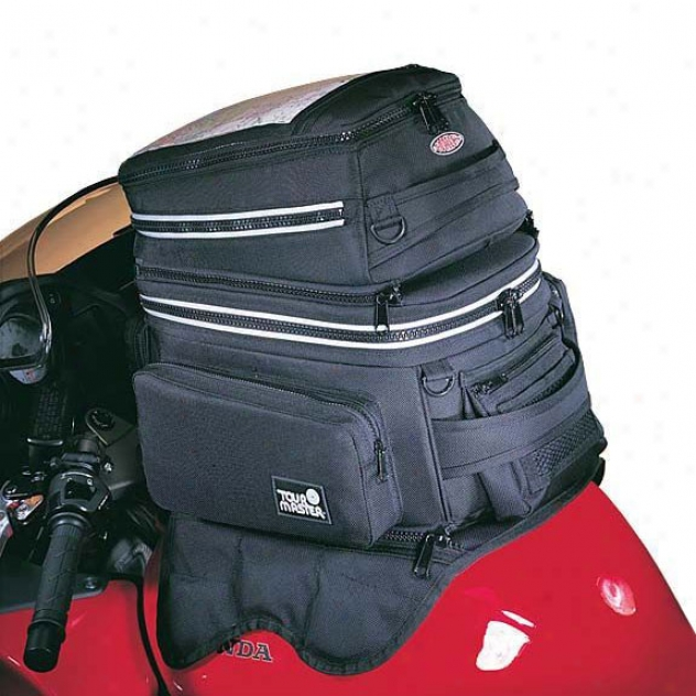 Cortech Tribag Strap Mount Tank Bag