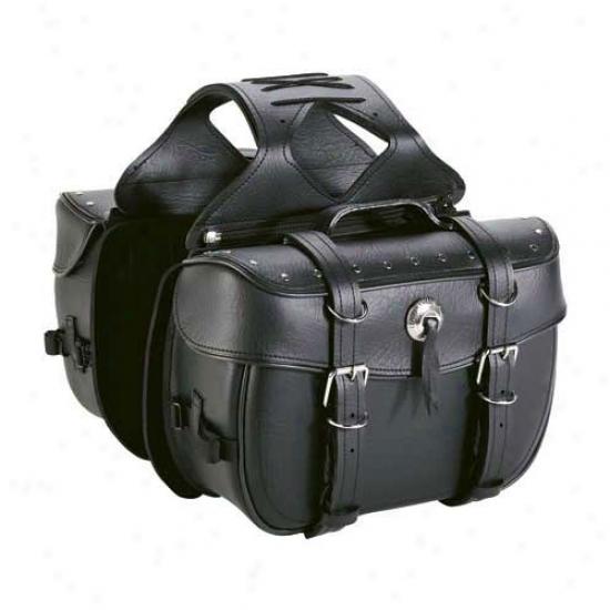 Cruiser Ii Box Saddlebag With Rivets