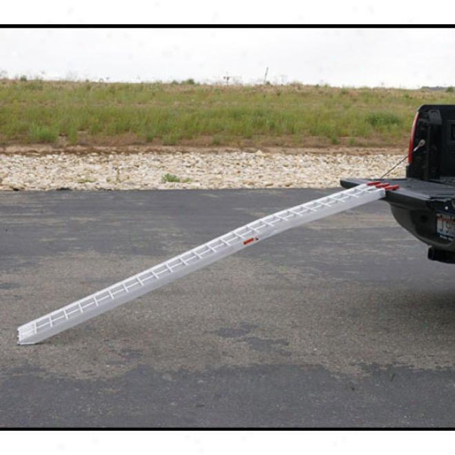 Curved lAuminum Ramp