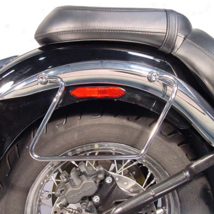 Custom Saddlebag Guards
