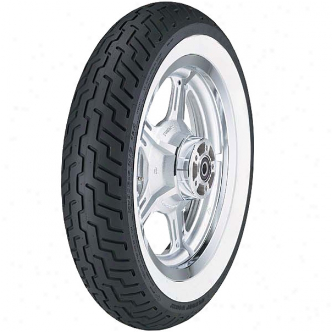 D404 Whitewall Front Tire