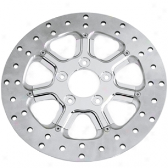 Diesel 13 Polished Two-piece Front Rotor