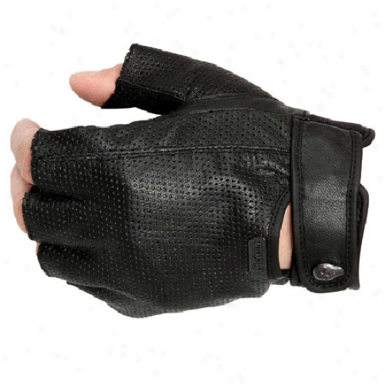 Easy Rider 2.0 Non-perforated Fingerless Gloves