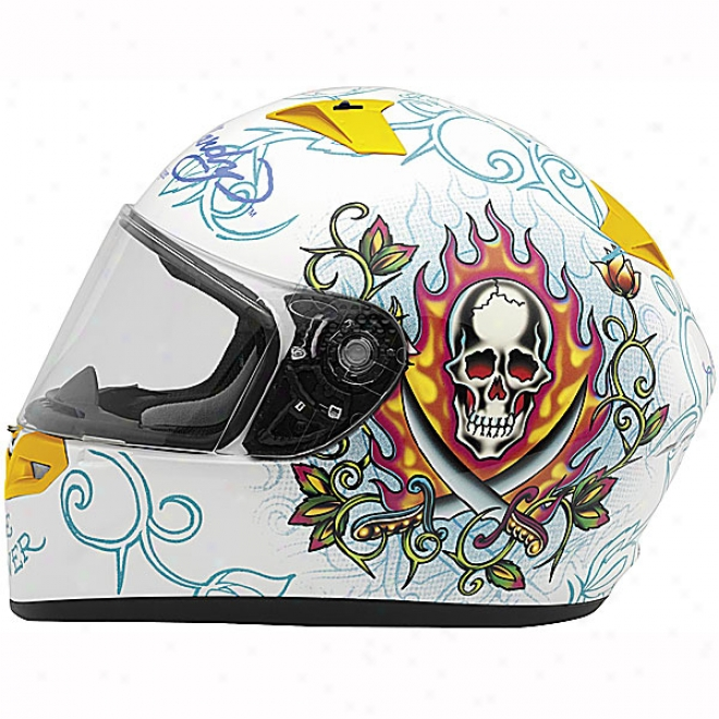 Ed Hardy Pirate Vr-2 Helmet