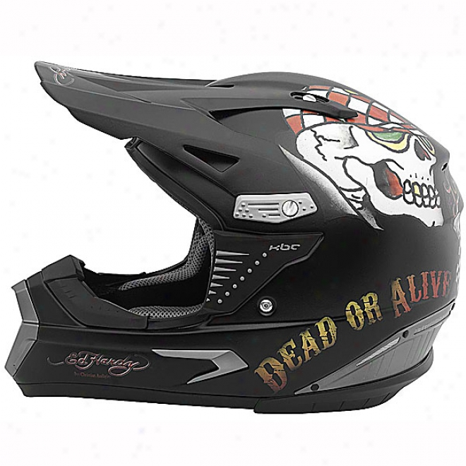 Ed Hardy Speed Kills Pro-x Helmet