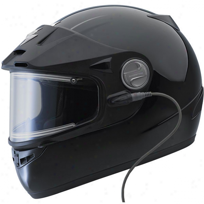 Exo-400 Snow Helmet With Electric Shield