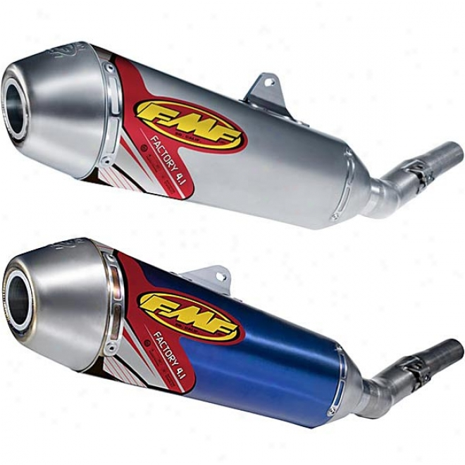 Factory 4.1 Slip-on Exhaust With Titanium Mid-pipe