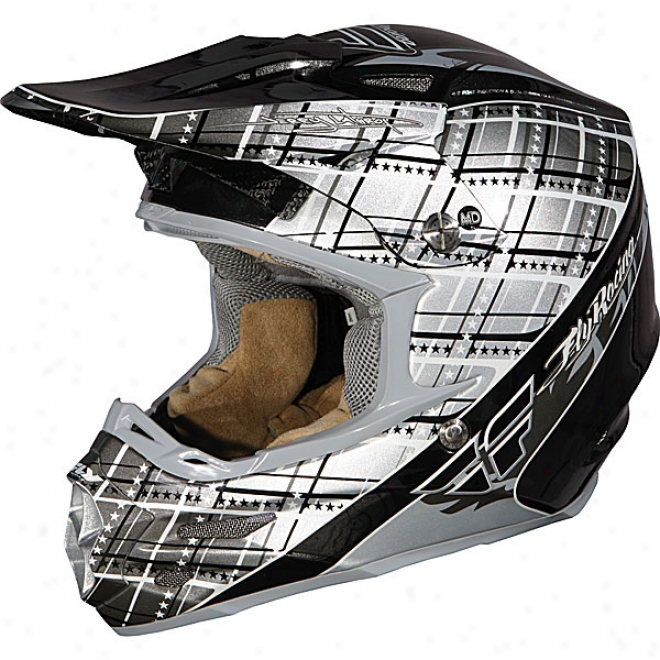 Formula Mad Plaid Mx Helmet