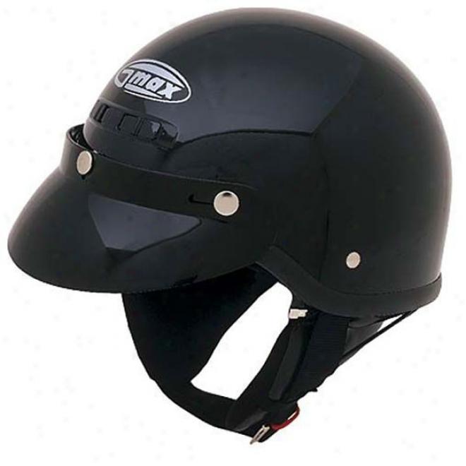 Gm-5x Solid Half Helmet