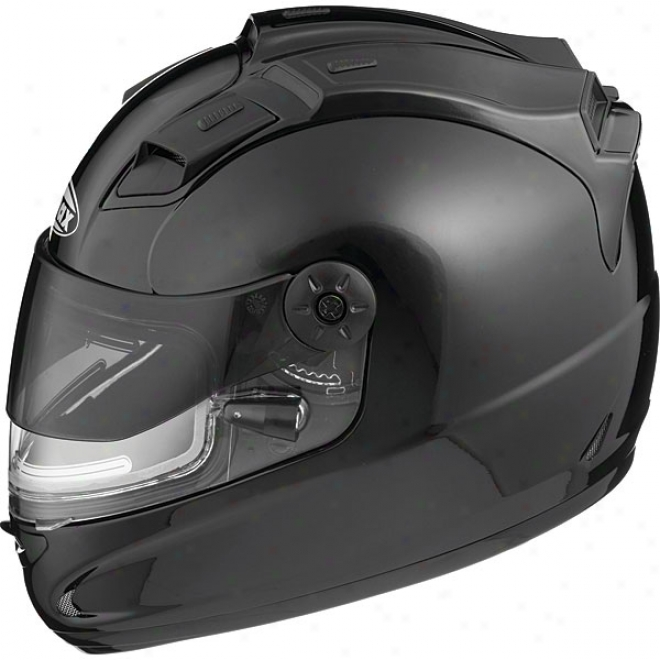 Gm68 Solid Snow Helmet With Electric Shield