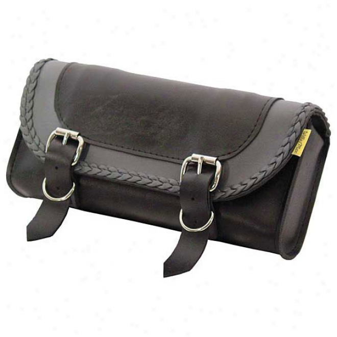 Grey Thunder Braided Tool Pouch