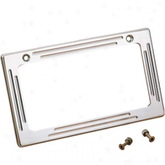 Grooved Permit Plate Frame