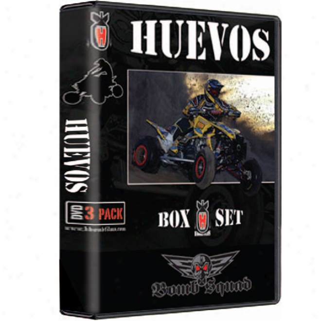Huevos 4-6 Dvd Blow Set