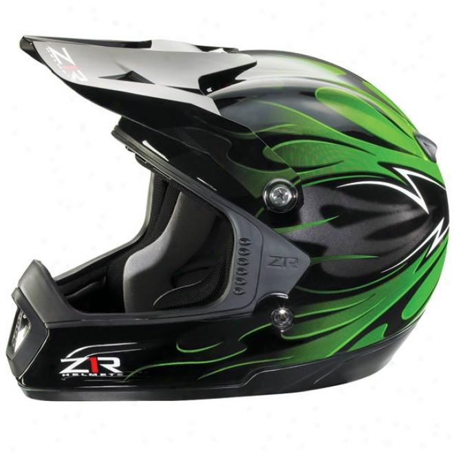 Intake Flame Helmet