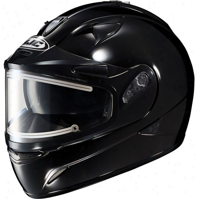 Is-16 Sn Solid Snow Helmet With Electric Shield