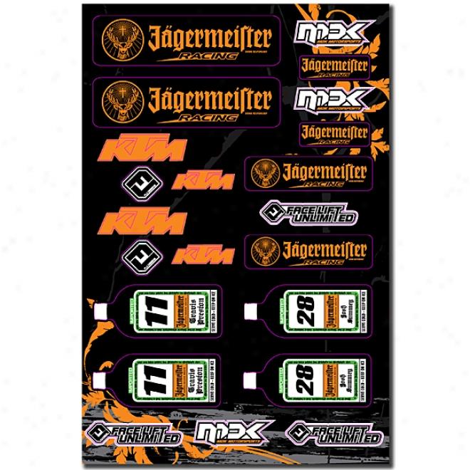 Jagermeister Ktm Universal Logo Kit