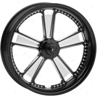 Judge One-piece Contrast-cut Aluminum Front Wheel