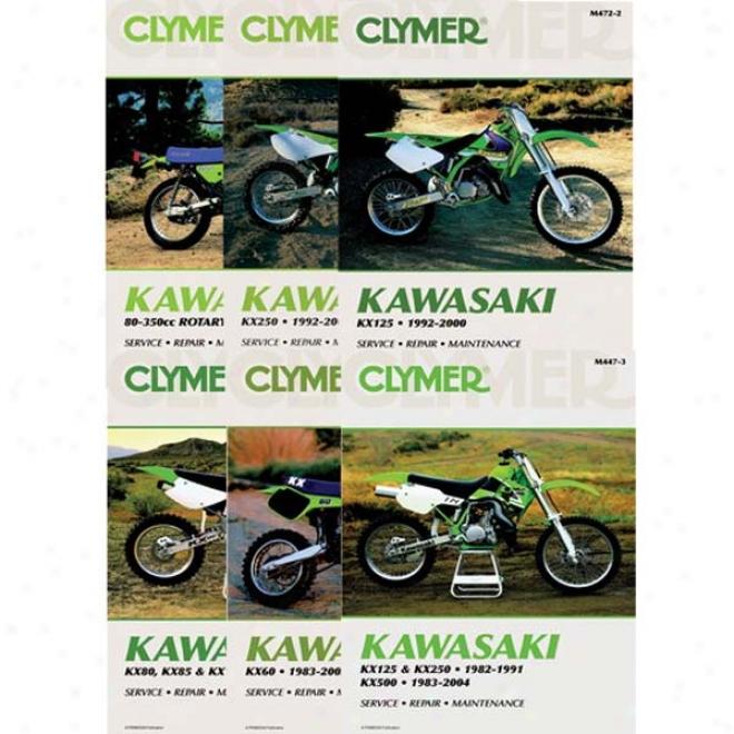This repair and service manual covers 1987-2004 kawasaki ksf250 mojave atvs