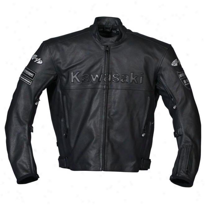 Kawasaki Zx Leather Jacket