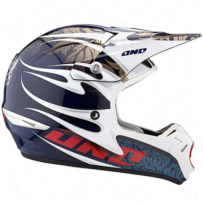 Kombat Flames Helmet