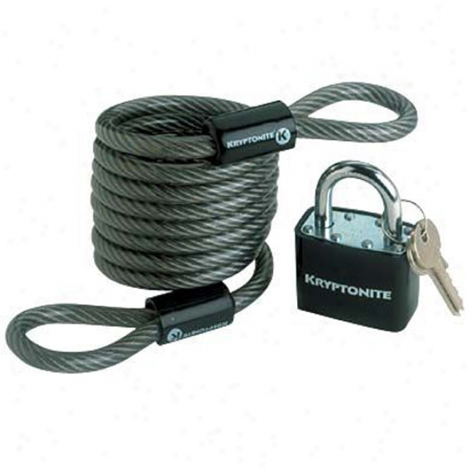 Kryptoflex 818 Looped Cable And Key Padlock